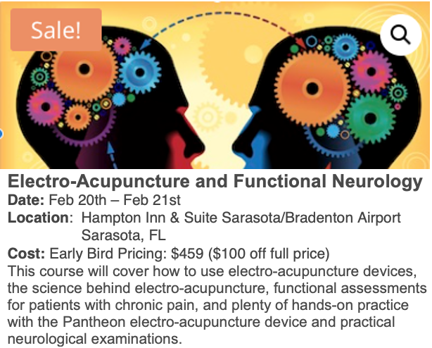 Electro-Acupuncture +